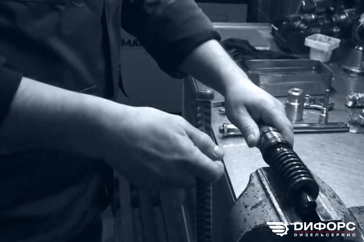 Фото ремонта насос-форсунок